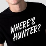wheres-hunter-t-shirt